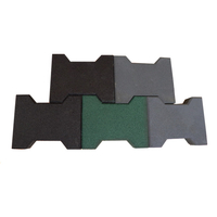 Dog-bone Shaped Rubber Paver