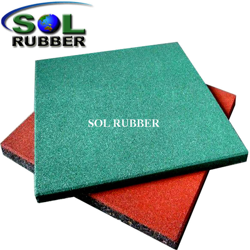 Heavy Duty Playground Rubber Mat Flooring