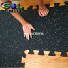 Bright EPDM free Connect Gym Fitness Floor Tile