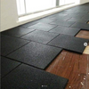 Commercial Recycled Rubber EPDM Flooring Tiles for Gym