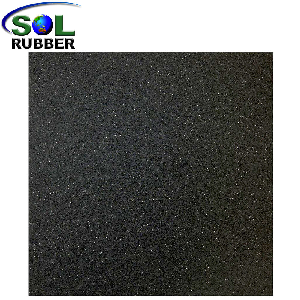 Easy Maintain Gym Rubber Flooring