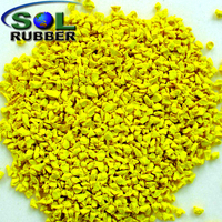 Colorful EPDM Rubber Granule For Rubber Flooring