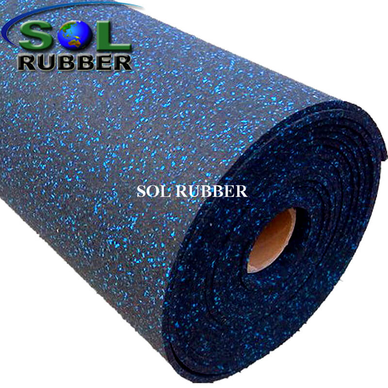 Recycle Material Rubber Rolls Flooring