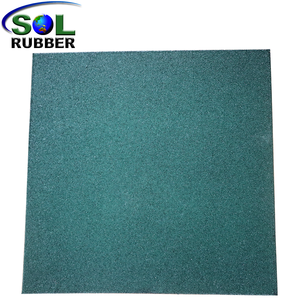 EPDM Cartoon Pattern Playground Rubber Mat