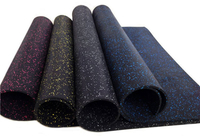 2021 Commercial Fire Resistance EPDM Rubber Roll Gym Flooring Mat