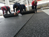 Rolled 8mm 10% Color Gym Roll Rubber Flooring Mat