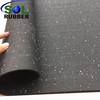 EPDM Granules GYM Rolled Rubber Flooring