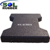 "1 3/4"" Thick Brick Puzzle Dogbone Rubber Paver Use for Horse"
